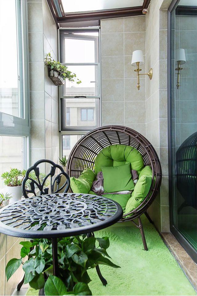 [装修案例]128平米三居室美式装修风格,舒适的居家生活