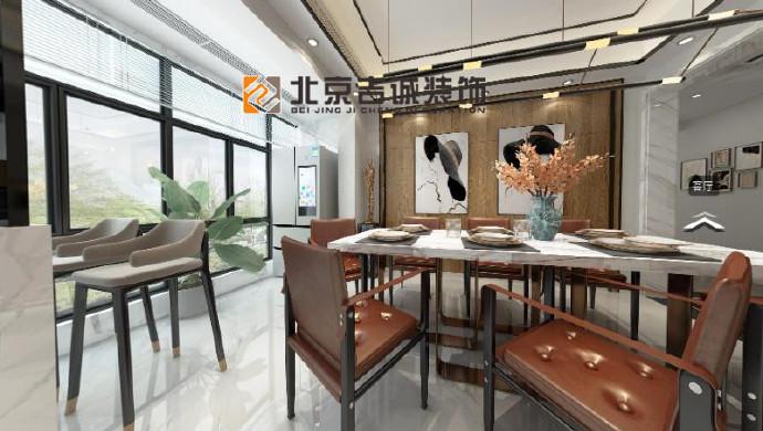 [装修案例]142平米现代简约风格装修效果图 温馨而静谧的家
