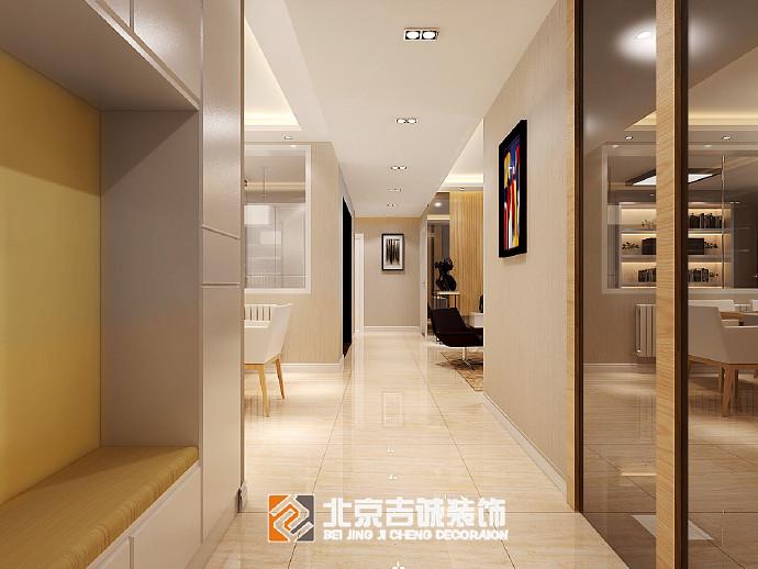[装修案例]127平米现代简约风格效果图 简而典雅的精致