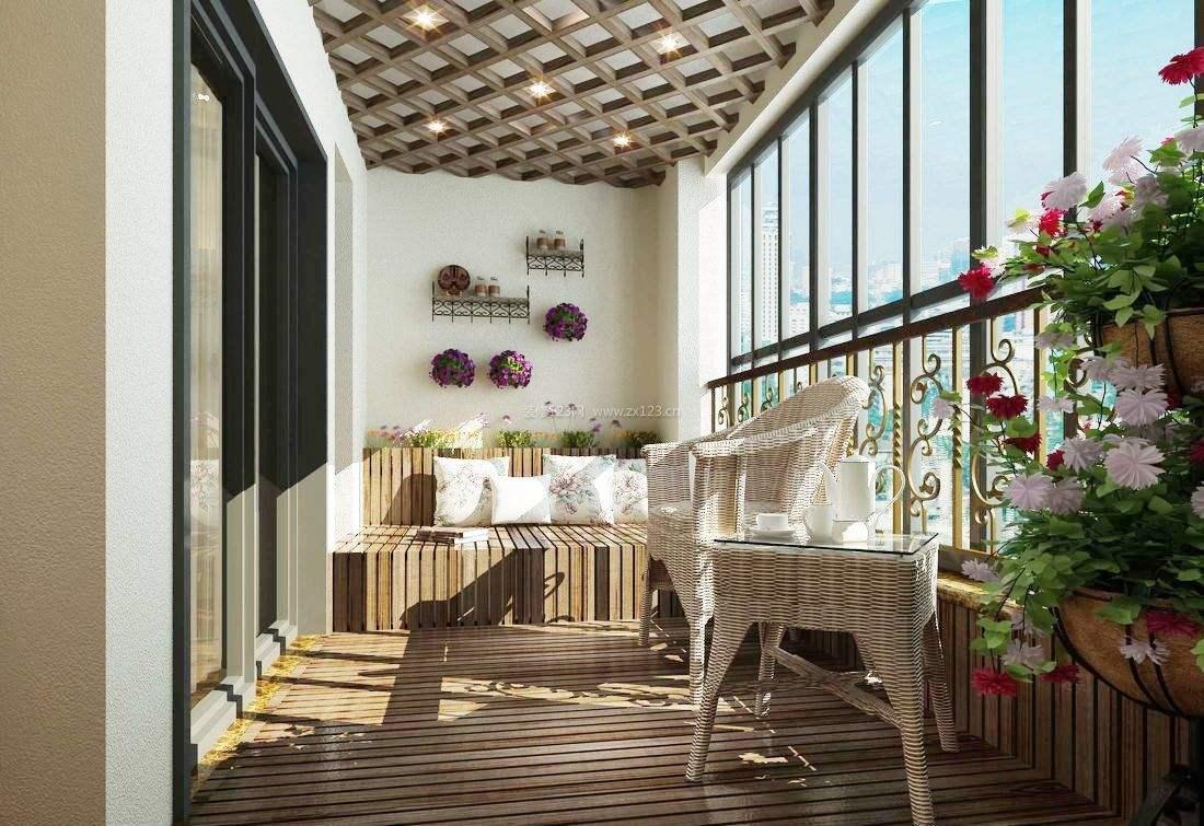 新房装修阳台需不需要吊顶?五种阳台吊顶方式供你选择